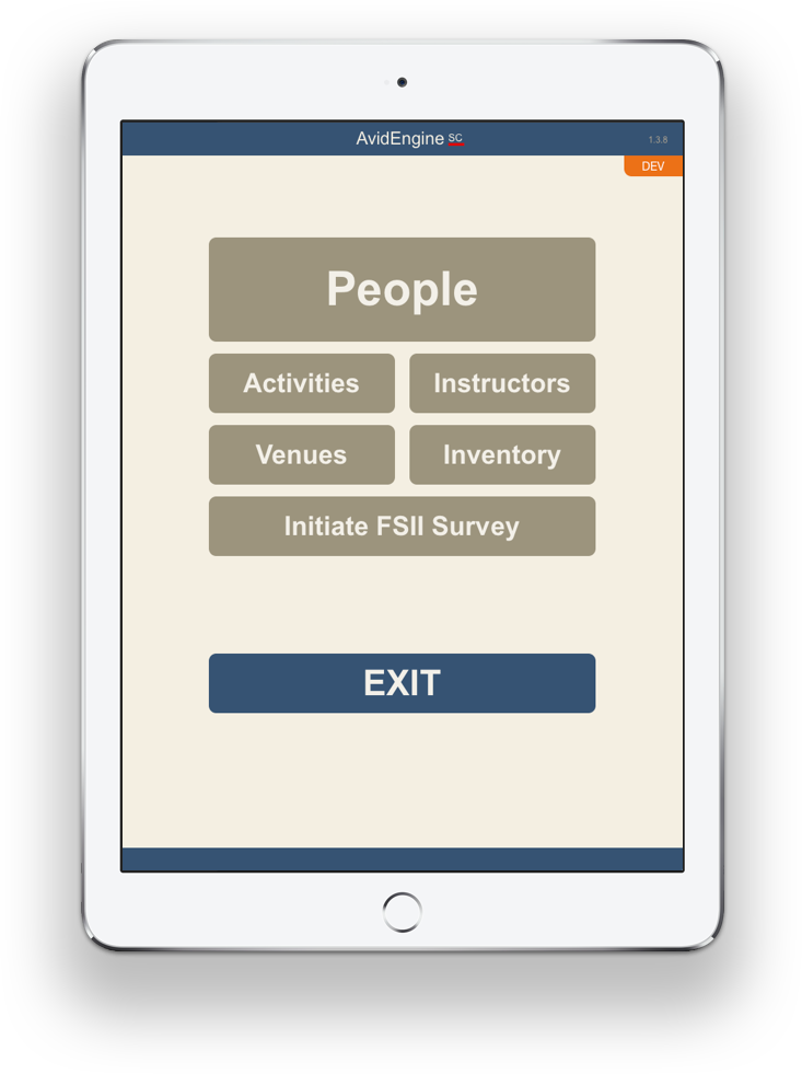AvidEngineSC - Mobile Ready on iOS